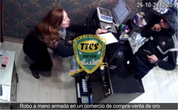 video camara seguridad robo joyeria gijon